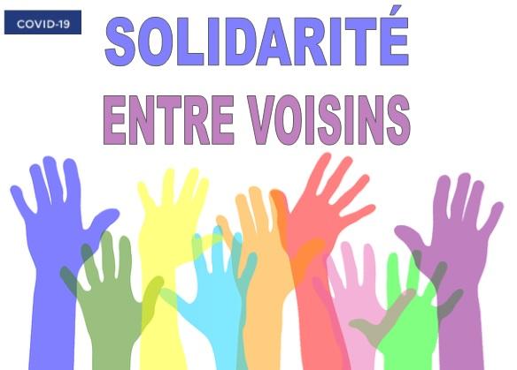 COVID-19 : Solidarité voisins