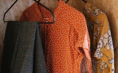 Installation d'une benne pour la récupération des vêtements