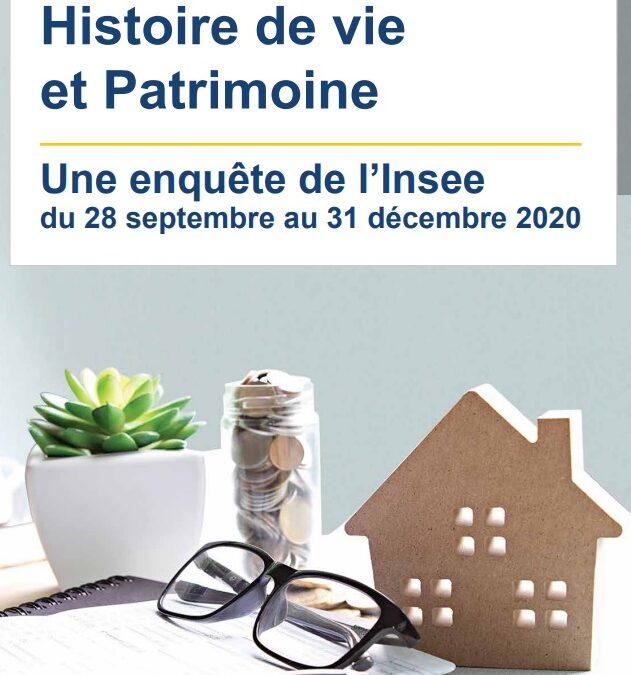 Enquête statistique sur l'Histoire de vie et le Patrimoine des ménages (INSEE)