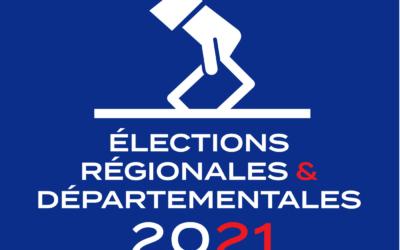ÉLECTIONS DÉPARTEMENTALES ET RÉGIONALES DU 27 JUIN 2021 – Résultats du 2nd tour