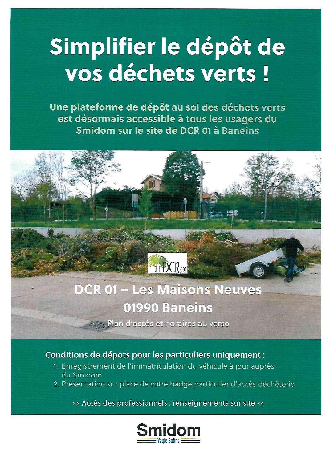 Informations déchets verts