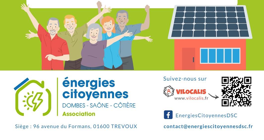 ASSOCIATION ENERGIES CITOYENNES DOMBES SAÔNE CÔTIÈRE : Rencontre publique du 09 Octobre 2021